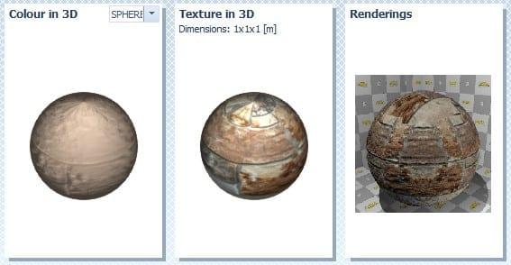 Colore - texture - rendering_BIM