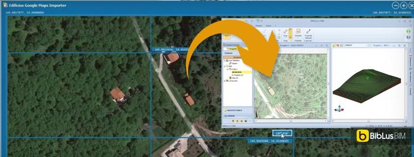Come importare la morfologia di un terreno da google maps for Progettista di garage virtuale