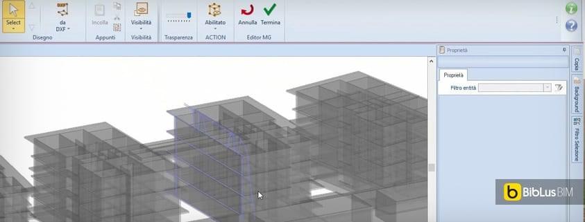 Modellazione di elementi architettonici a travi curve con for Software di progettazione domestica di piano terra