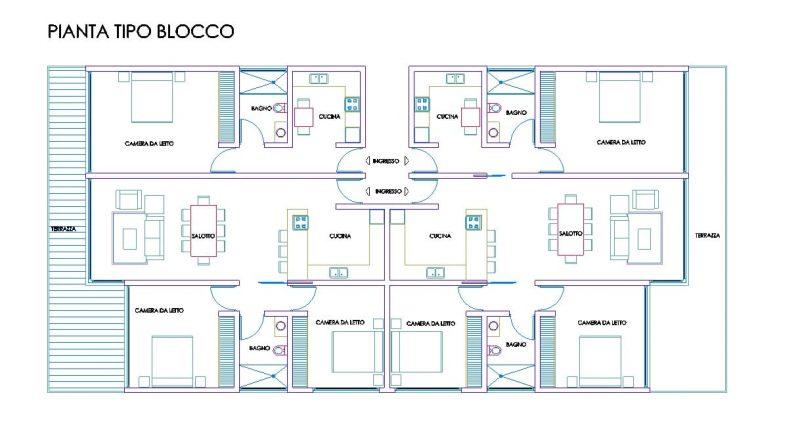 Modellazione di elementi architettonici a travi curve con for Piani di casa con una vista verso la parte posteriore