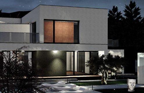 Il progetto C-House realizzato con un software BIM per l'architettura