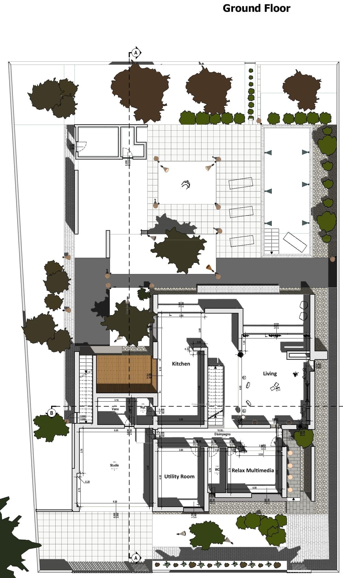 Piano terra C-House