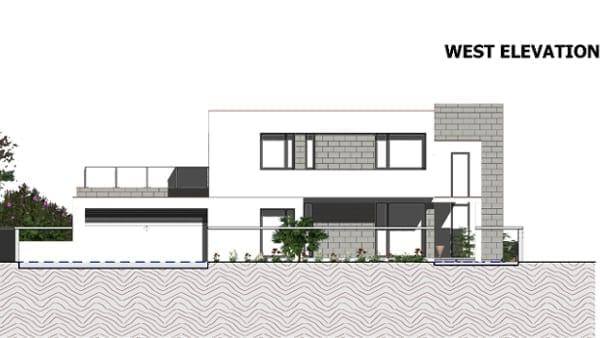 Il progetto c house realizzato con un software bim per l for Software di progettazione di architettura domestica