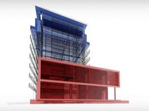 oggetto IFC in un progetto BIM Edificius