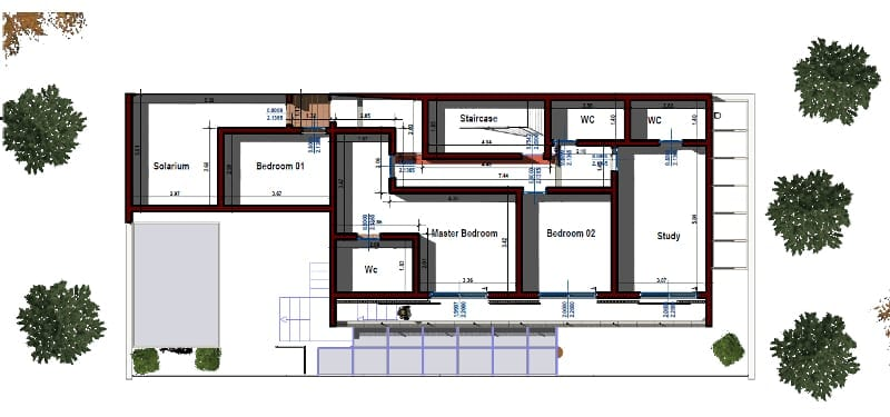 progettare una casa unifamiliare con un software bim casa