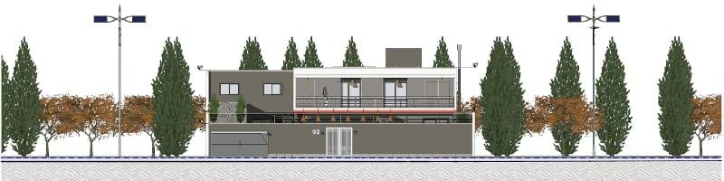 Progettare una casa unifamiliare con un software bim casa for Design frontale della casa a un piano