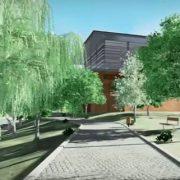 Progettazione degli spazi esterni: Daegu Gosan Public Library
