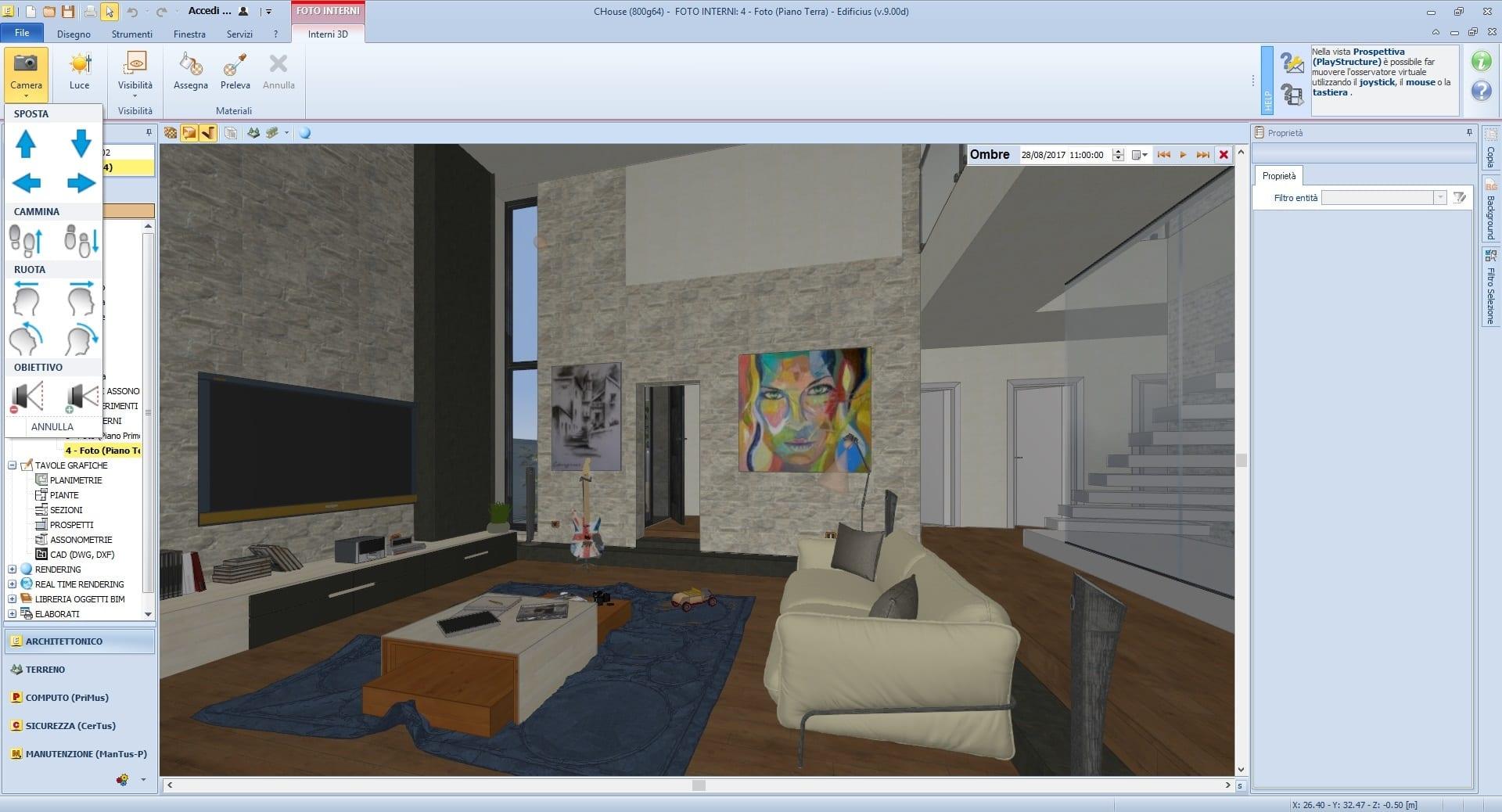 Programma design interni software utili agli architetti for Arredare casa programma