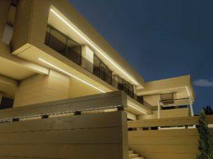 Facciata di notte_Marbella II_Edificius