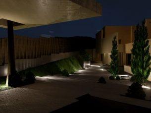 Ingresso di notte_Marbella II_Edificius