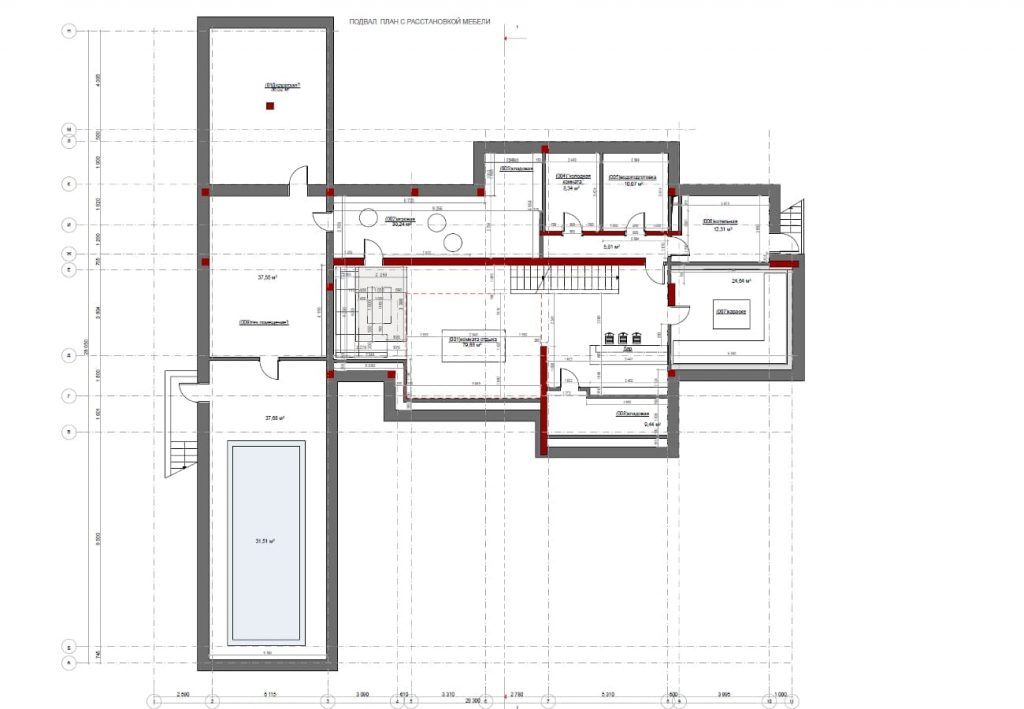 Progettazione architettonica di una residenza di campagna for Piani di casa architettonica