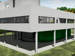 Villa Savoye Edificius BIM