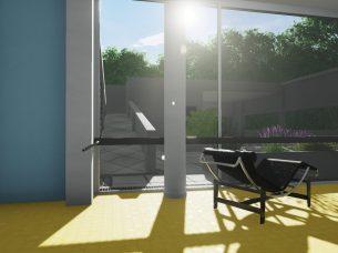 Villa Savoye render Edificius BIM 1