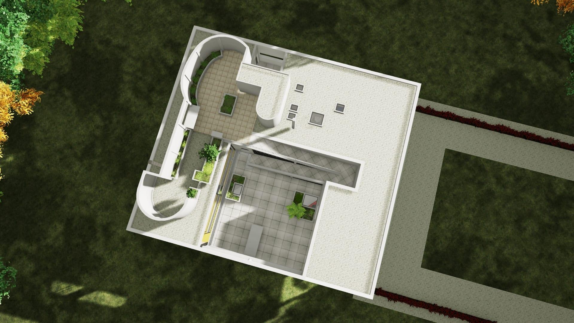 Tetto giardino Villa Savoye