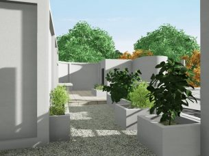 Villa Savoye render Edificius BIM 2