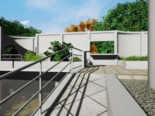 Villa Savoye render Edificius BIM 3