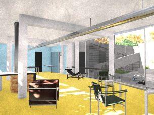 Villa Savoye render Edificius BIM 30