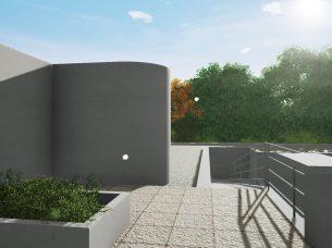 Villa Savoye render Edificius BIM 4