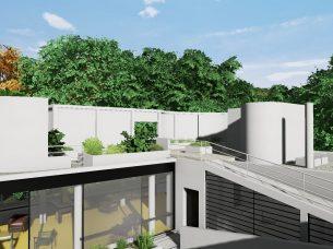 Villa Savoye render Edificius BIM 7