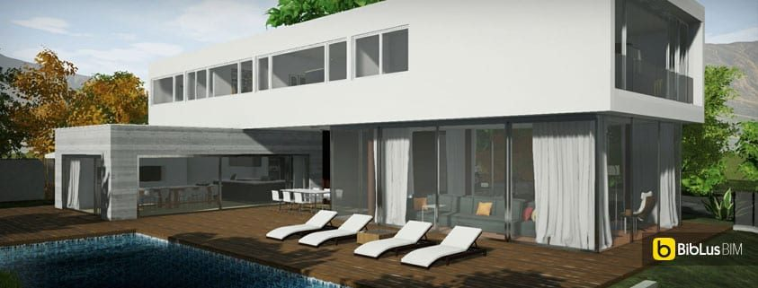 Casa en Los Cisnes Edificius BIM