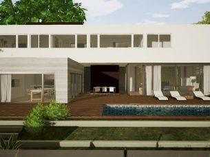 Casa en Los Cisnes Edificius BIM Render 3