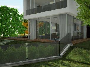 Casa en Los Cisnes Edificius BIM Render 5