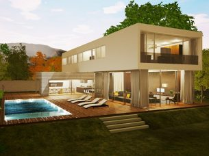 Casa en Los Cisnes Edificius BIM Render 7
