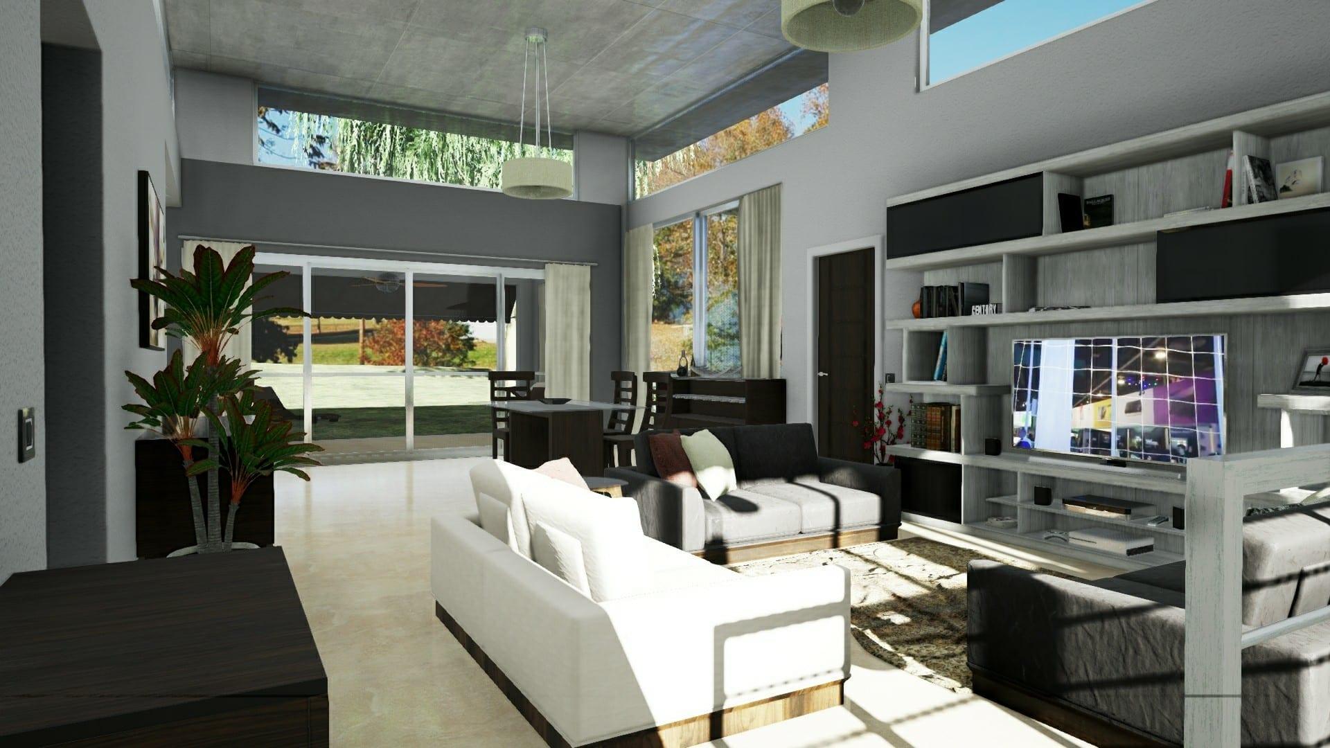 Come modellare e personalizzare gli interni di un edificio for Registrare gli stili di casa