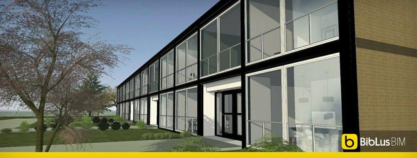 case a schiera classiche e moderne il progetto di