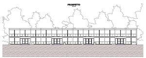 case-a-schiera-prospetto-dal-progetto-a-Lafayette-Park-Opera-di-L-Mies-van-der-Rohe