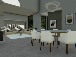 Living room_software BIM_Edificius