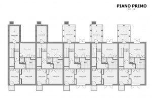 Case a schiera progetti ed esempi con piante planimetrie for Ville architetti famosi