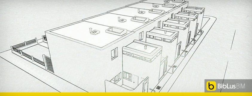 case a schiera progetti ed esempi con piante planimetrie