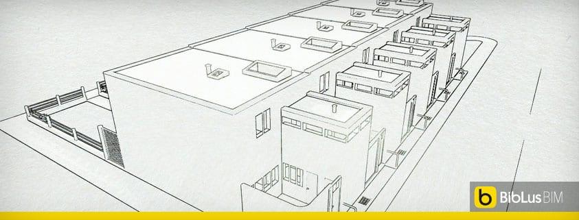 Case a schiera progetti ed esempi con piante planimetrie for Disegni di addizione garage