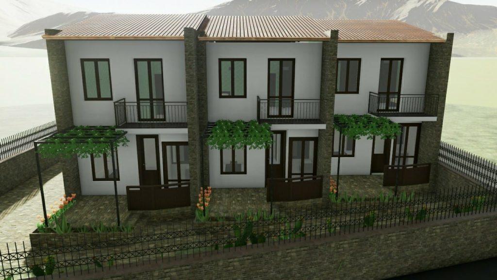 Case a schiera progetti ed esempi con piante planimetrie - Casa a schiera progetto ...