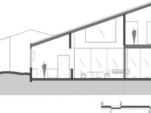 sezione A-A LPZ House