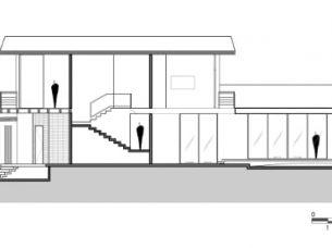 sezione C-C LPZ House