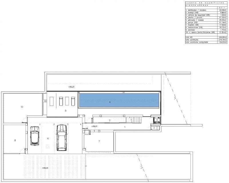 Esempio di progetto realizzato con un software bim per l for Software di piano architettonico