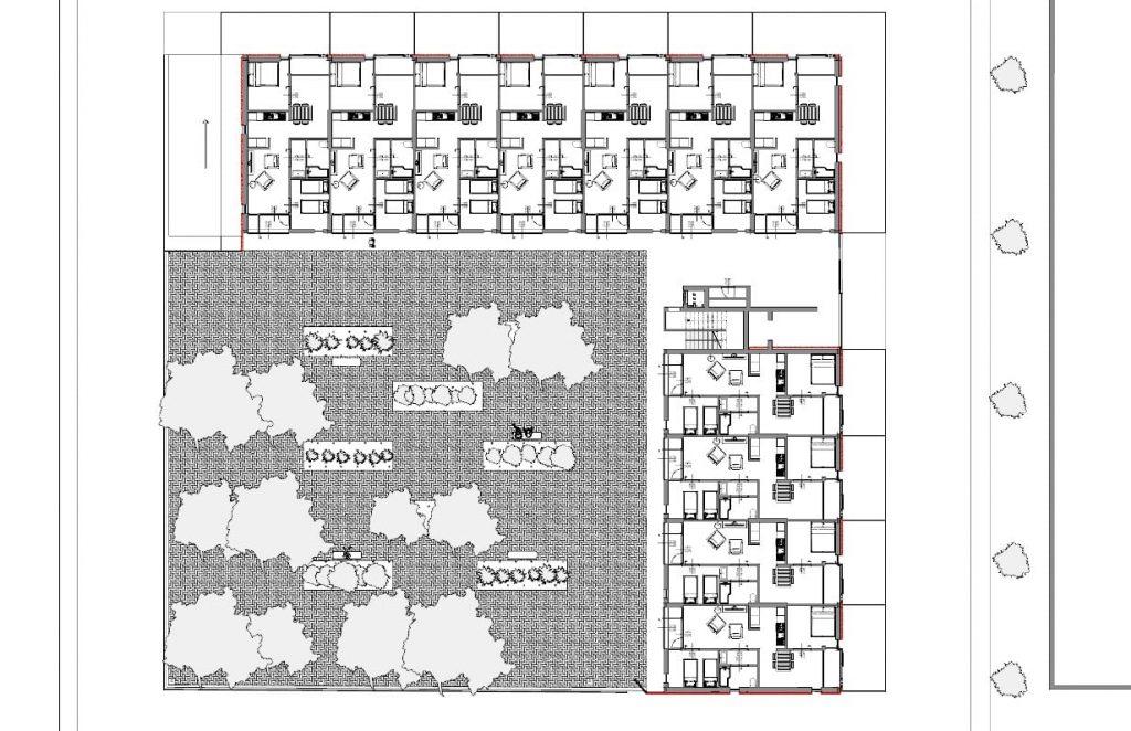 Casa-di-ringhiera a-Lleida-pianta-complessiva-piano-terra