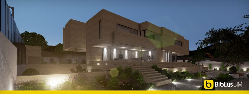 Esempio di progetto realizzato con un software bim per l for Esempio di progetto di casa