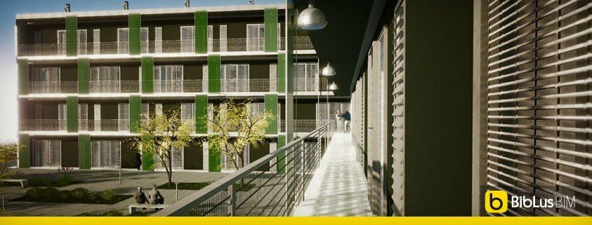Casa di ringhiera o a ballatoio progetti famosi con for Case progettate da architetti