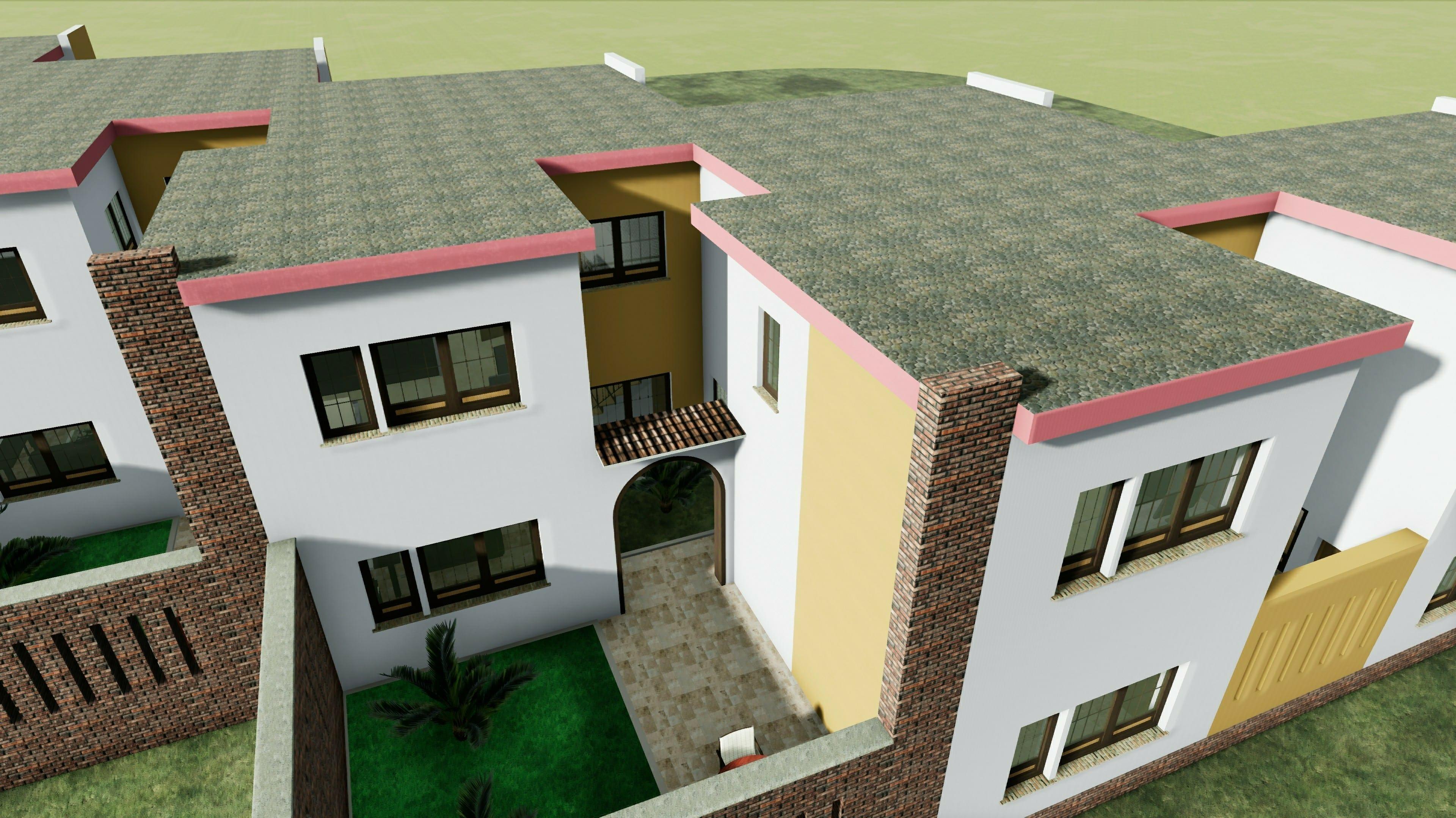 Modelli di villette singole perfect progetti di case moderne villa singola in costruzione in - Progetti giardino per villette ...