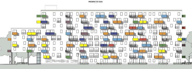 casa-di-ringhiera-WoZoCo-Apartments-prospetto-sud