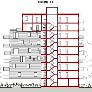case-a-ballatoio-WoZoCo-Apartments-sezione