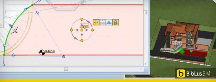 Disegnare e modificare un piazzale con un software bim la for Disegnare progetti