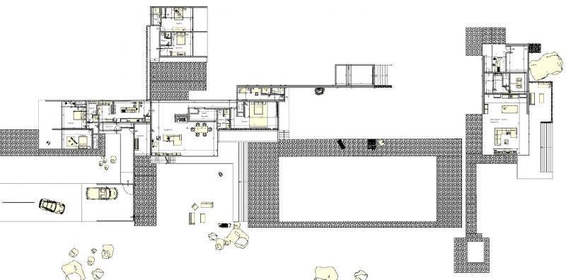 casa unifamiliare casa-Kaufmann-pianta-generale-piano-terra
