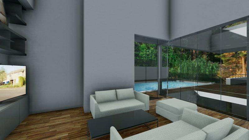 Pianta Camera Da Letto Dwg : Ecco un progetto di casa unifamiliare a due piani completo di dwg da