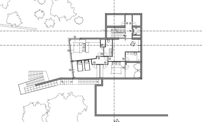 Progetti case unifamiliari dwg - Progetto casa design ...