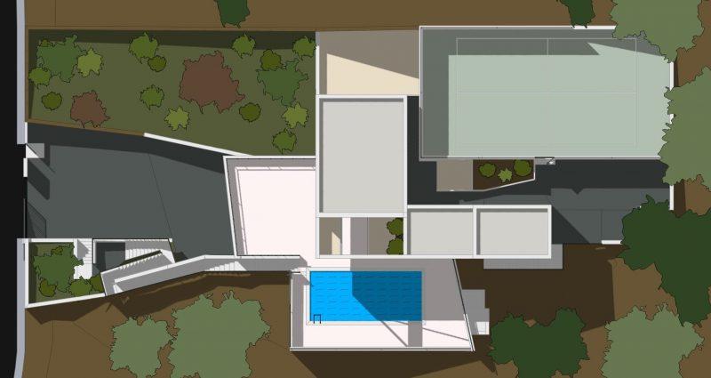 Ecco un progetto di casa unifamiliare a due piani completo for Software planimetria casa