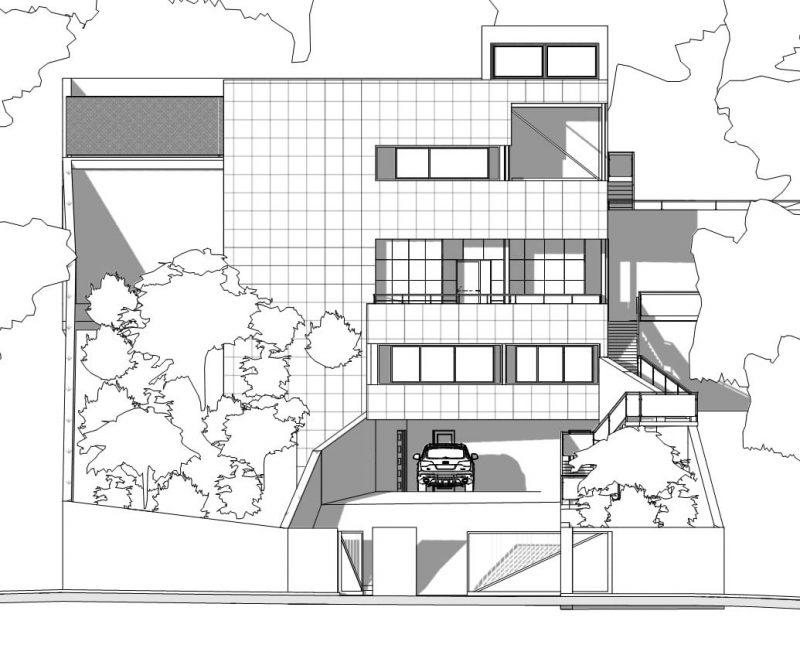 ecco un progetto di casa unifamiliare a due piani completo